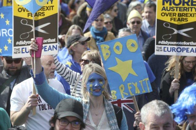 United for Europe march
