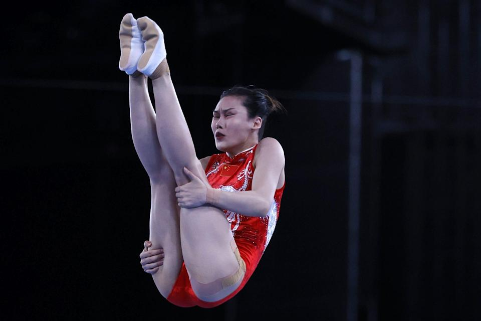 <p>Lingling, 26, went into the final round in first place.</p>
