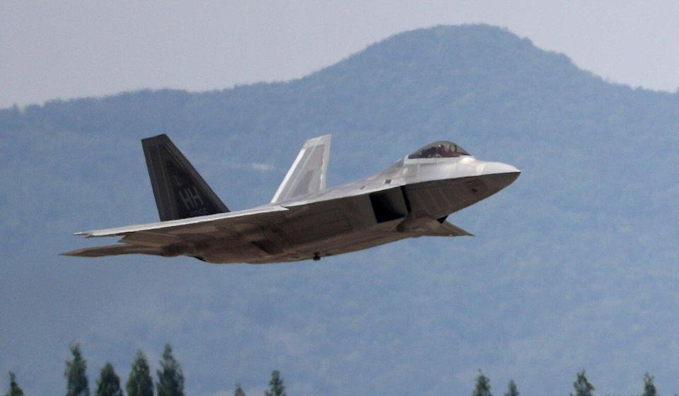 Honeywell was fined US$13 million for sharing technical information about US fighter jets, like the F-22. Photo: AFP