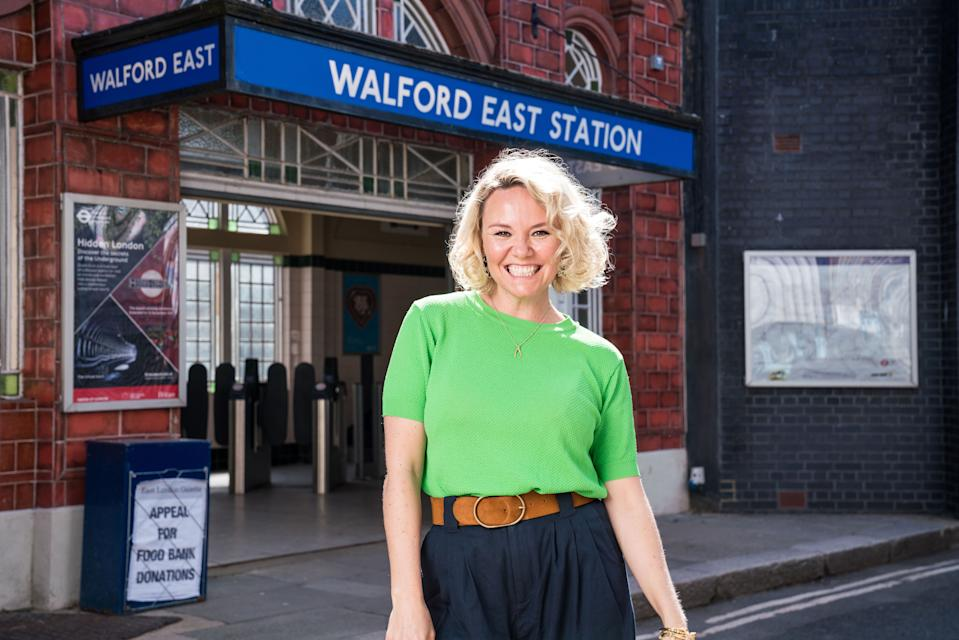 Charlie Brooks is heading back to EastEnders. (BBC)