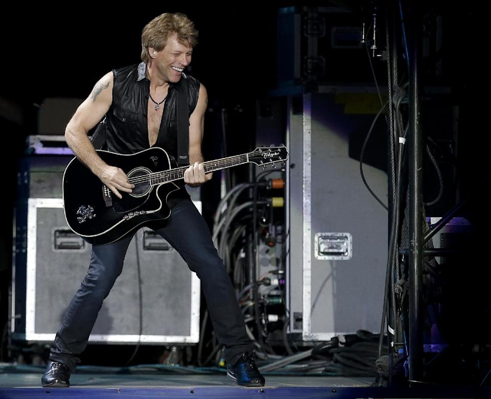 Jon Bon Jovi is part of a group trying to buy the Buffalo Bills. (AP)