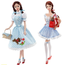 "<div class=""caption-credit""> Photo by: barbiecollector.com</div><b>""The Wizard of Oz"" Dorothy Barbie and Miss Dorothy Gale doll, both released in 2010 for $39.95 each</b> <br> There have been many ""Wizard of Oz"" Barbie dolls over the years. We like these contrasting Dorothys side by side. The retro version and the slutty Halloween version."