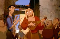 """<p><strong>Hulu's Description:</strong> """"When treasure hunters, Tulio (Kevin Kline) and Miguel (Kenneth Branagh) are mistaken for gods, they face a difficult decision: keep the riches or battle the odds to save El Dorado!""""</p> <p><span>Stream <strong>The Road to El Dorado</strong> on Hulu!</span></p>"""