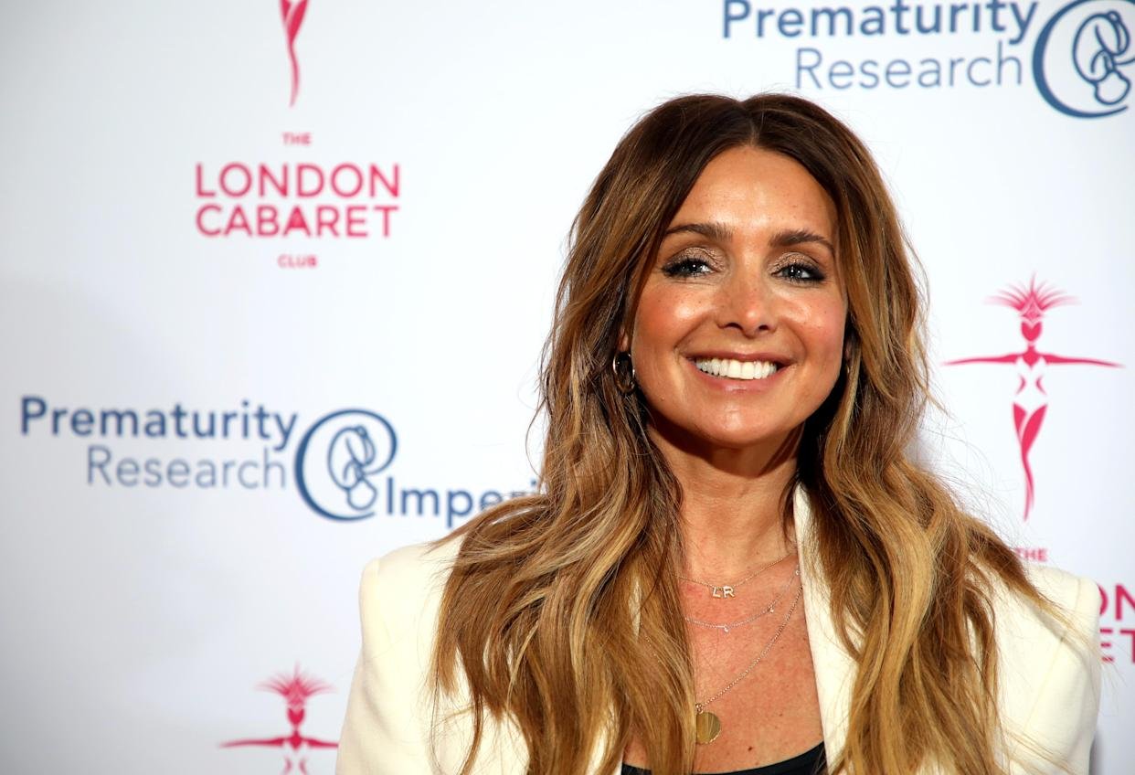 Louise Redknapp arrives at the Gatsby Gala, in aid of Prematurity Research, at the Bloomsbury Ballroom, London. (Photo by David Parry/PA Images via Getty Images)