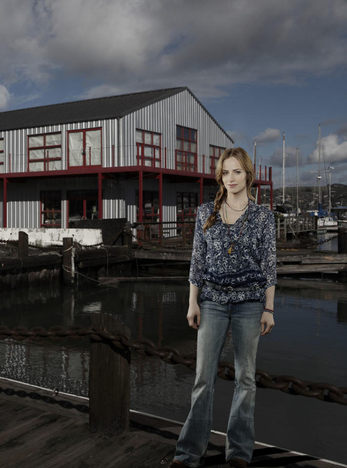 "ABC's ""Red Widow"" stars Jaime Ray Newman as Kat Castillo."