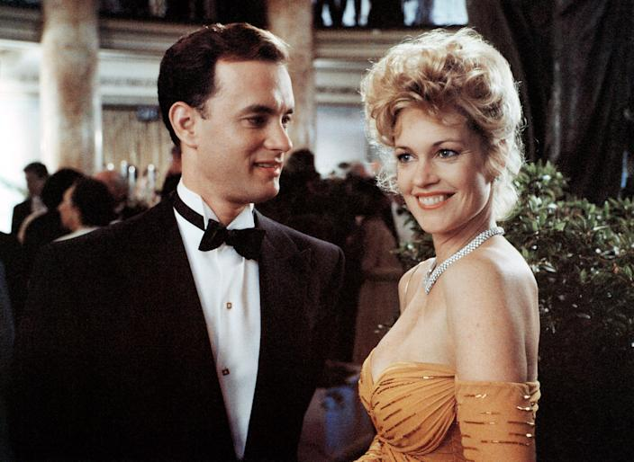 Tom Hanks and Melanie Griffith starred in the notorious box-office bomb, 'The Bonfire of the Vanities' (Photo: Warner Brothers/courtesy Everett Collection)