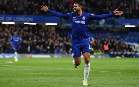 <span>Ruben Loftus-Cheek was Chelsea's third highest scorer in the league with six goals</span> <span>Credit: GETTY IMAGES </span>