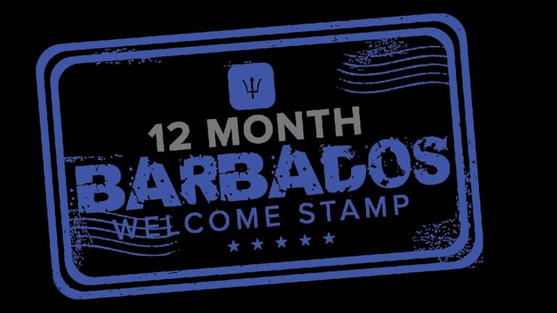 Barbados Welcome Stamp
