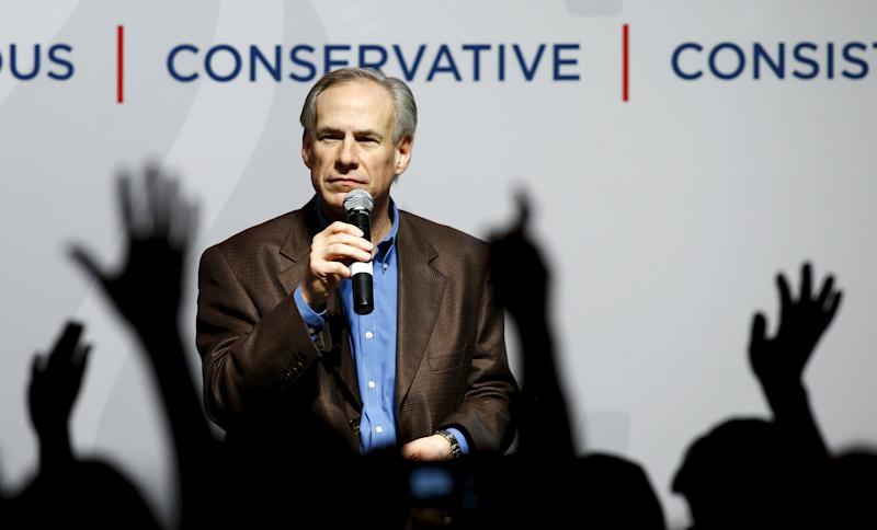 Texas Gov. Greg Abbott (R). (Mike Stone / Reuters)