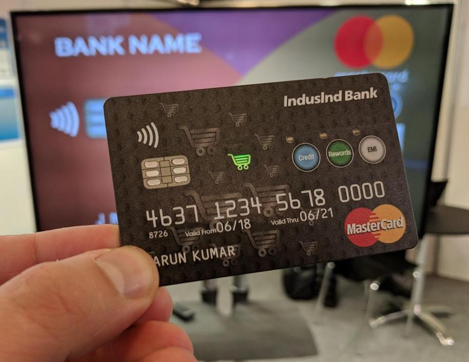 This connected credit card can communicate directly with your bank.