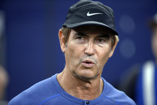 Art Briles was hired by the Hamilton Tiger-Cats of the Canadian Football League briefly before they reversed course. (AP)