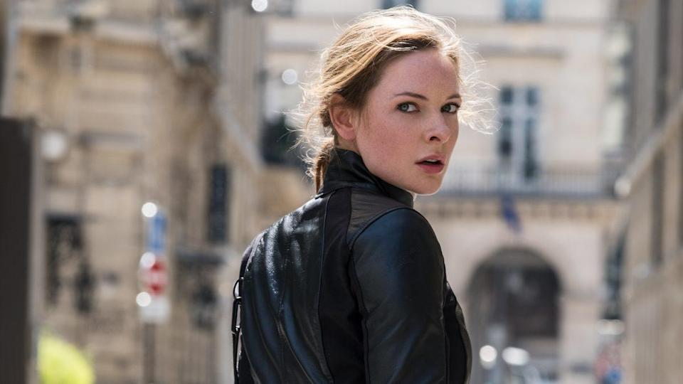 Rebecca Ferguson plays Isla Faust in the 'Mission: Impossible' franchise