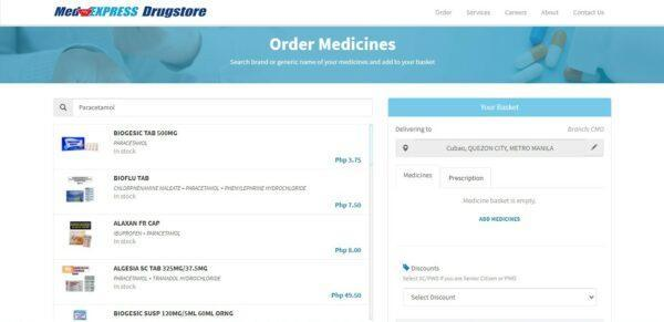 Medicine Delivery in the Philippines - MedExpress Drugstore