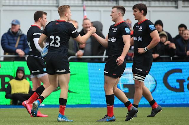 Saracens' relegation from the Premiership has already been confirmed after salary cap breaches (Getty Images)