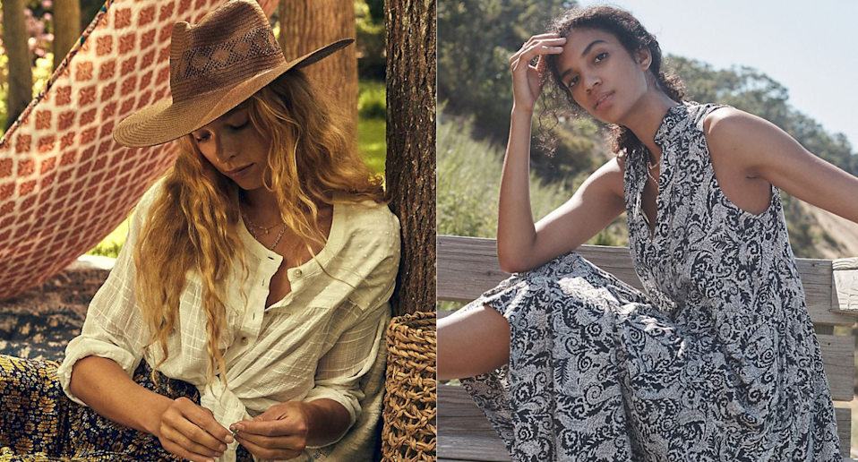 This weekend, save an extra 40% on sale items at Anthropologie. Images via Anthropologie.