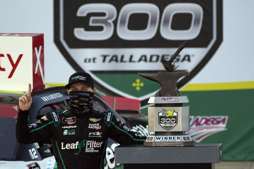 Haley earns 3rd superspeedway victory with Talladega win