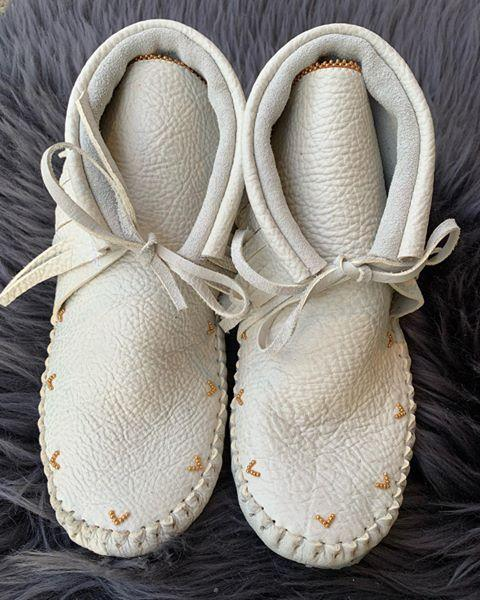 "<p>This Indigenous brand has a strong focus on sustainability. Each pair of moccasins created by <a href=""https://www.jamiegentrydesigns.com/about"" rel=""nofollow noopener"" target=""_blank"" data-ylk=""slk:Jamie Gentry"" class=""link rapid-noclick-resp"">Jamie Gentry</a>, from the Kwakwaka'wakw Nation, is custom made-to-order with that person in mind. If you've got a special request, you can reach out to the artist with questions or complete an <a href=""https://www.jamiegentrydesigns.com/where-to-buy"" rel=""nofollow noopener"" target=""_blank"" data-ylk=""slk:order form"" class=""link rapid-noclick-resp"">order form</a>. Otherwise, click the shop button below to add yourself to the list.</p><p><a class=""link rapid-noclick-resp"" href=""https://byellowtail.com/collections/jamie-gentry"" rel=""nofollow noopener"" target=""_blank"" data-ylk=""slk:SHOP NOW"">SHOP NOW</a></p><p><a href=""https://www.instagram.com/p/B7cRz4KFW0m/?utm_source=ig_embed&utm_campaign=loading"" rel=""nofollow noopener"" target=""_blank"" data-ylk=""slk:See the original post on Instagram"" class=""link rapid-noclick-resp"">See the original post on Instagram</a></p>"