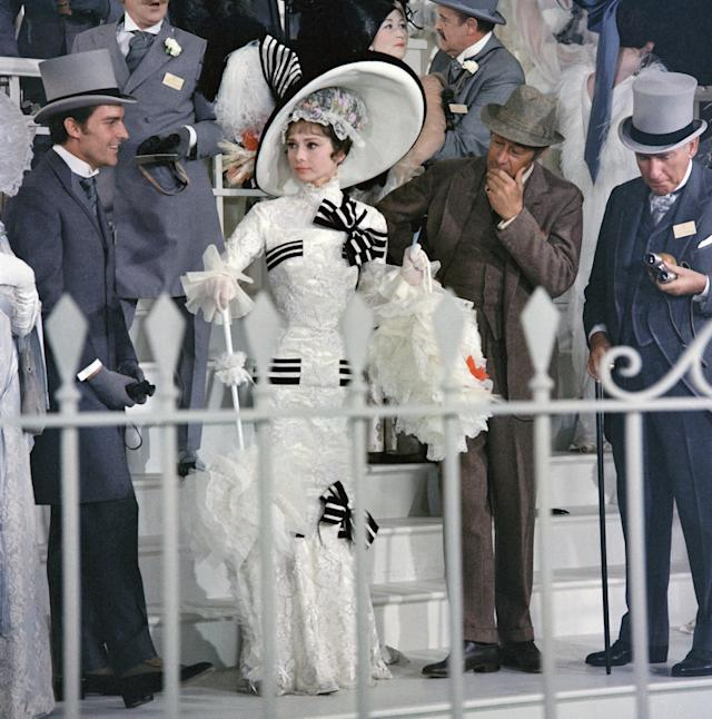 Audrey Hepburn in the Ascot scene from <i>My Fair Lady</i> (Photo: CBS via Getty Images)