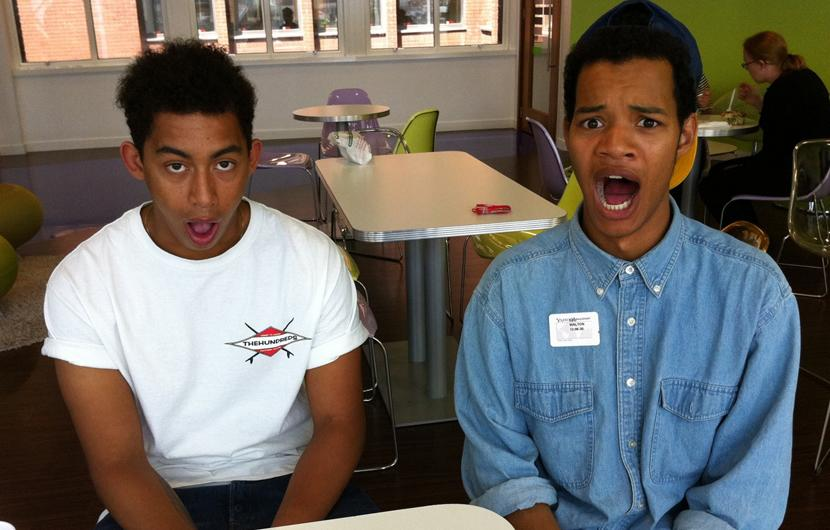 Celebrity photos: Those naughty Rizzle Kicks boys always have us in stitches!