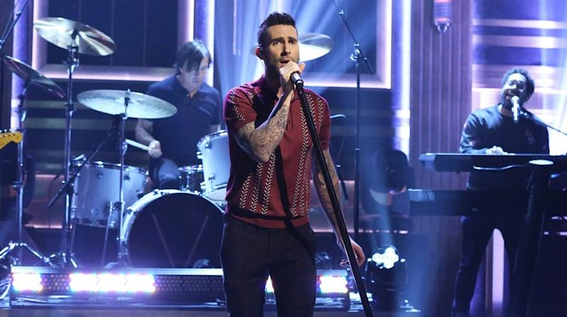 Watch Maroon 5 Perform Brooding 'Cold' on 'Fallon'