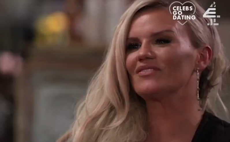 Kerry Katona on Celebs Go Dating (Credit: E4)