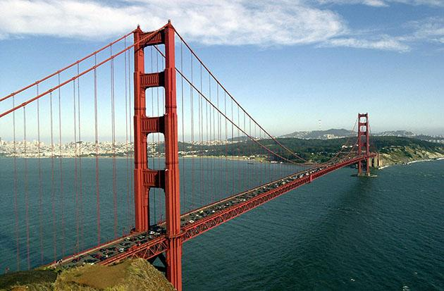 File photo of Golden Gate Bridge (Justin Sullivan/Getty)