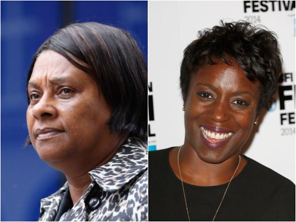 Doreen Lawrence is played by Sharlene Whyte in 'Stephen' (Getty Images)