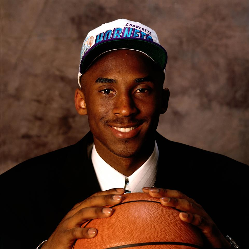 The Charlotte Hornets drafted Kobe Bryant with the No. 13 pick in the 1996 NBA draft before finalizing the trade that sent him to the Lakers in exchange for Vlade Divac. The deal was in limbo for a week as Divac threatened to retire rather than play in Charlotte. He played two seasons for the Hornets before leaving for Sacramento in 1999 free agency. Bryant, of course, played 20 memorable seasons in Los Angeles. (Andy Hayt/NBAE via Getty Images)
