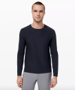 """<p><strong>Lululemon</strong></p><p>lululemon.com</p><p><a href=""""https://go.redirectingat.com?id=74968X1596630&url=https%3A%2F%2Fshop.lululemon.com%2Fp%2Fmens-jackets-and-hoodies-hoodies%2FAlpine-Air-Crew-MD%2F_%2Fprod9090678&sref=https%3A%2F%2Fwww.esquire.com%2Fstyle%2Fmens-fashion%2Fg36003946%2Flululemon-sale-men-april-2021%2F"""" rel=""""nofollow noopener"""" target=""""_blank"""" data-ylk=""""slk:Shop Now"""" class=""""link rapid-noclick-resp"""">Shop Now</a></p><p><strong><del>$148.00</del> $89.00 (40% off)</strong></p><p>For those final few chilly spring mornings—and the entire upcoming fall and winter.</p>"""