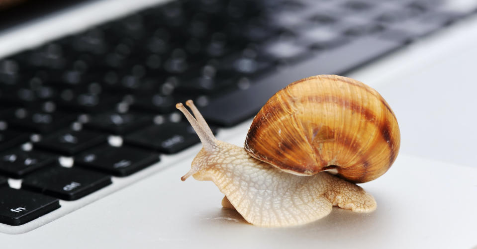 New computer operating at a snail's pace? Get it up to speed again. (Photo: Getty)