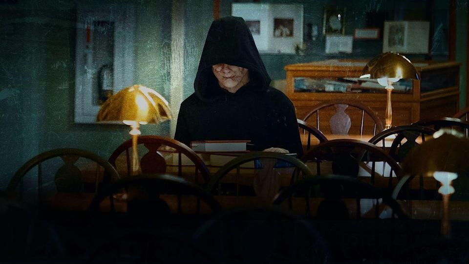 """<p>Is the Bye Bye Man real, or in their heads? Find out what happens when three college students are haunted by a supernatural killer in this dark film.</p><p><a class=""""link rapid-noclick-resp"""" href=""""https://www.netflix.com/title/80103336"""" rel=""""nofollow noopener"""" target=""""_blank"""" data-ylk=""""slk:STREAM NOW"""">STREAM NOW</a><br></p>"""