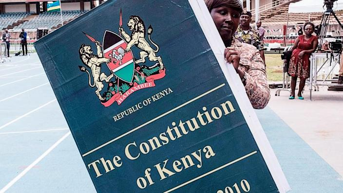 Many Kenyans feel the constitution has done little to end corruption