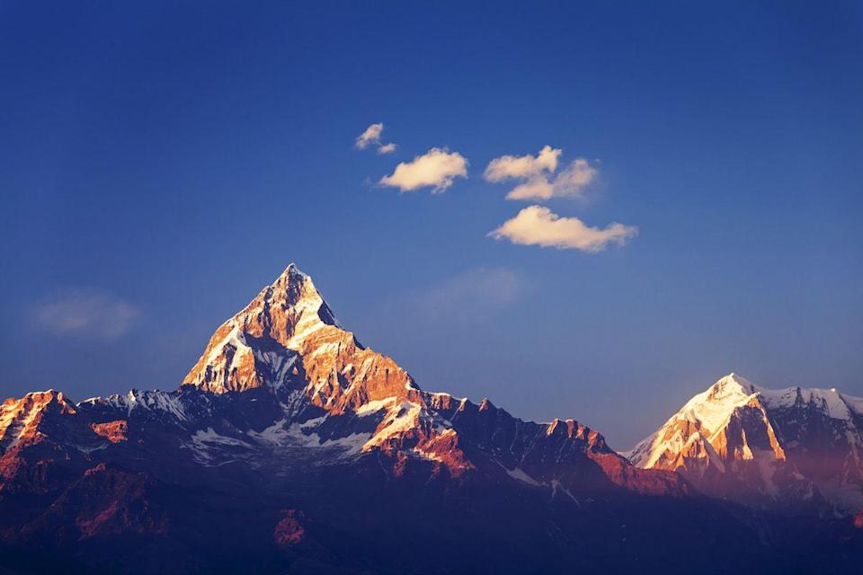 <p>Annapurna Mountain, as seen from Pokhara, Nepal // December 4, 2013</p>