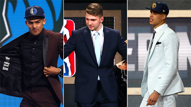 There were 60 players selected in Thursday's NBA Draft, but there is much invested in the star power of three guys: Luka Doncic, Trae Young and Michael Porter Jr.