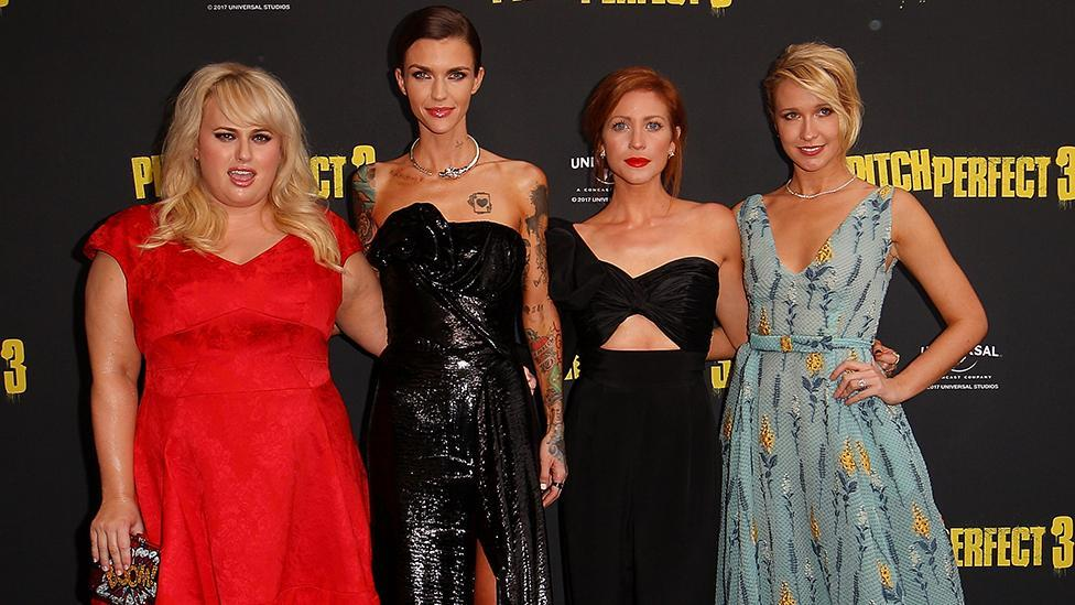 <p>Rebel Wilson and Ruby Rose turn heads at Pitch Perfect world premiere</p>