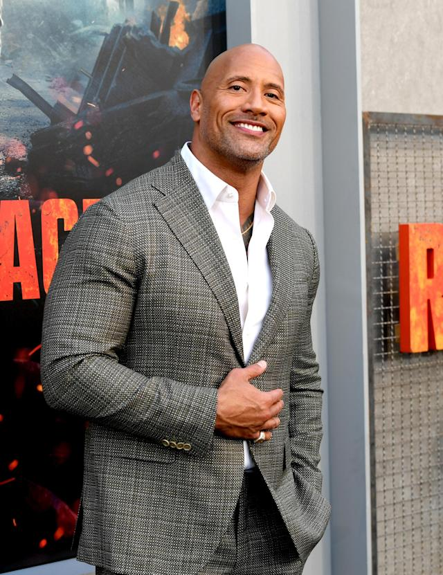 """Dwayne """"The Rock"""" Johnson welcomed his third daughter with a super-sweet photo."""