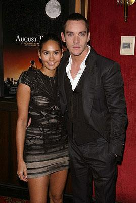 """Premiere: <a href=""""/movie/contributor/1800019579"""">Jonathan Rhys Meyers</a> and guest at the New York City premiere of Warner Bros. Pictures' <a href=""""/movie/1809418605/info"""">August Rush</a> - 11/11/2007<br>Photo: <a href=""""http://www.wireimage.com"""">Jim Spellman, WireImage.com</a>"""
