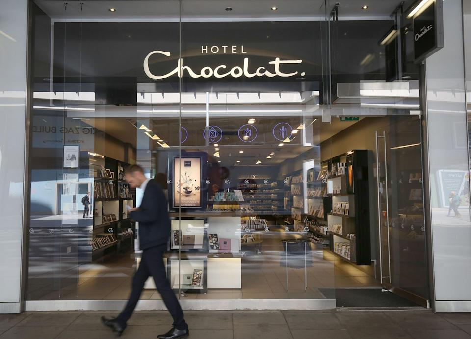 <p>Hotel Chocolat has reported revenue growth</p> (PA)