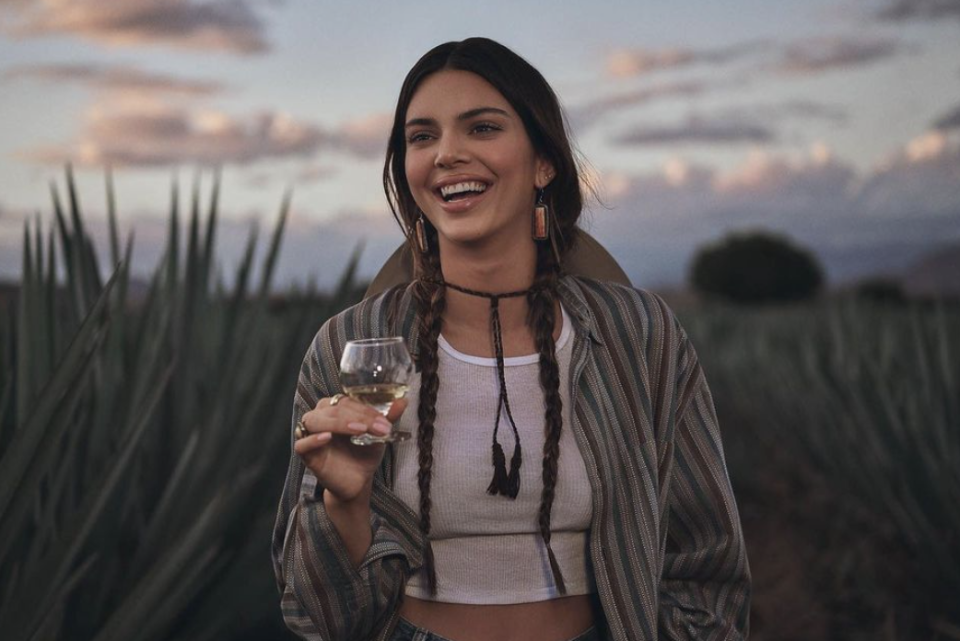 Kendall Jenner faces criticism for new 818 campaign imagery. (Photo: Drink818)