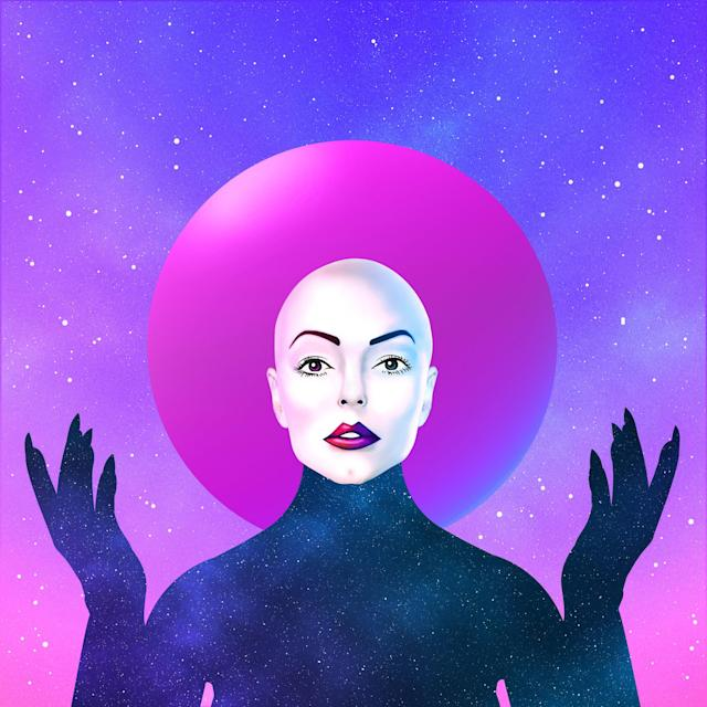 The artwork for Rose McGowan's album 'Planet 9.' (Photo: Bandcamp)