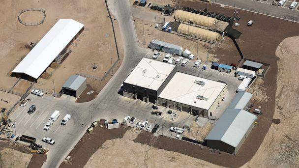 PHOTO: An aerial view of U.S. Border Patrol station facilities on June 28, 2019 in Clint, Texas. (Mario Tama/Getty Images)