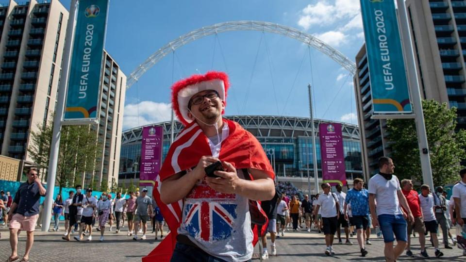 Fans Support England's Opening Game Of Euro 2020 | Chris J Ratcliffe/Getty Images
