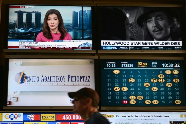 Auction halves number of Greek private TV stations