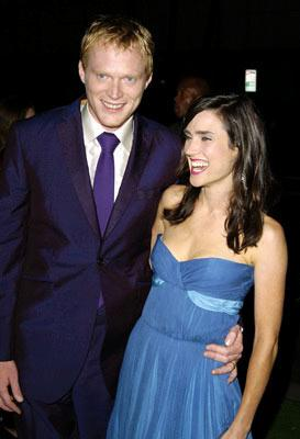 """Premiere: <a href=""""/movie/contributor/1804462348"""">Paul Bettany</a> and <a href=""""/movie/contributor/1800021142"""">Jennifer Connelly</a> at the Beverly Hills premiere of Universal Pictures' <a href=""""/movie/1808471030/info"""">Wimbledon</a> - 9/13/2004<br>Photo: <a href=""""http://www.wireimage.com/"""">Steve Granitz, WireImage.com</a>"""