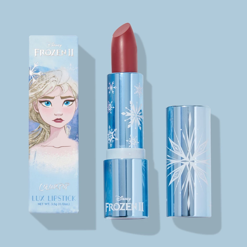 Elsa's Little Snow Creme Lux Lipstick (Photo courtesy of ColorPop Cosmetics)