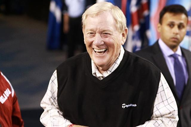 Former NFL general manager and Pro Football Hall of Famer Bill Polian is a founder of the eight-team Alliance for American Football league along with television and film producer Charlie Ebersol (AFP Photo/Michael Adamucci)