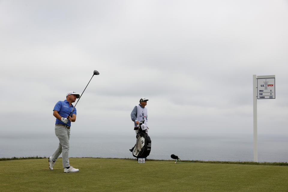 Brian Harman fared a lot better with the driver than the putter. (Photo by Ezra Shaw/Getty Images)