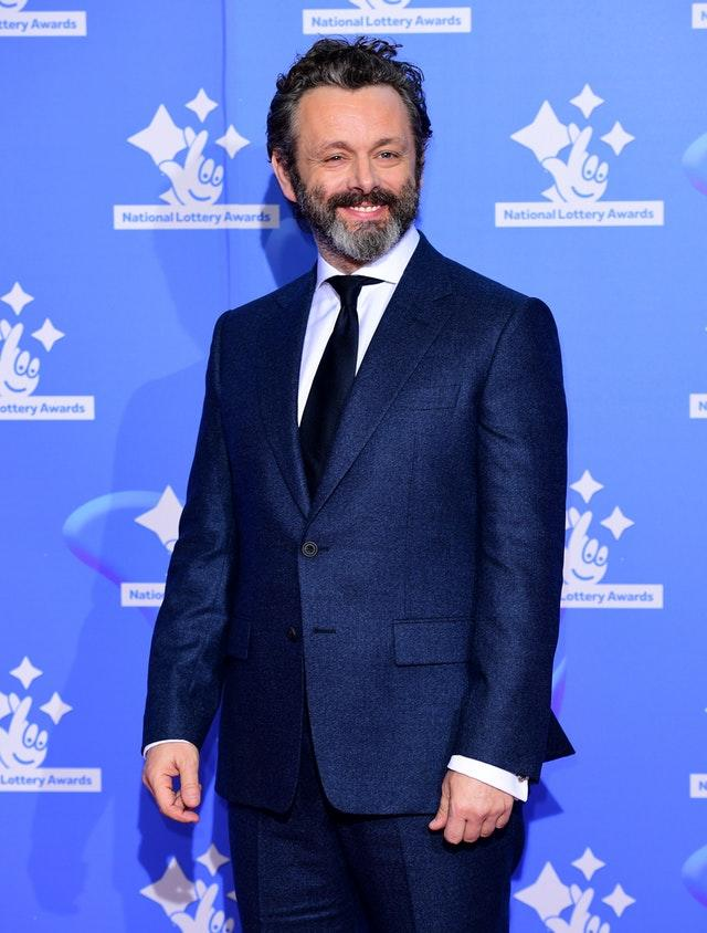 Michael Sheen on the red carpet