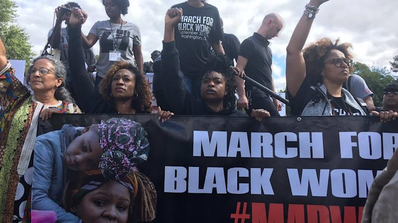 Hundreds Gather For The March For Black Women In D.C.