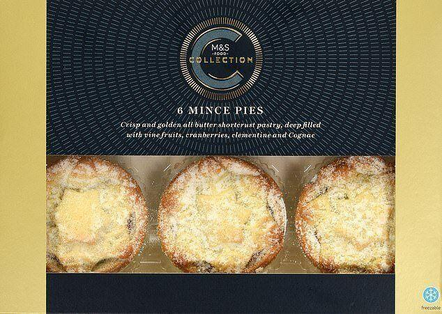Marks & Spencer Collection Mince Pies (Photo: HuffPost UK)